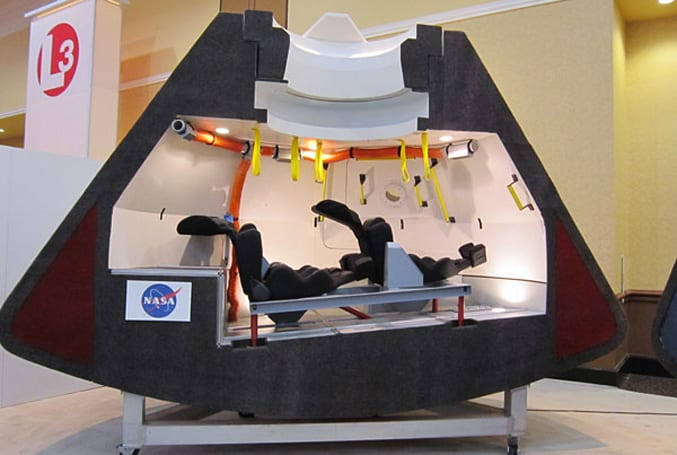 Boeing CST-100 capsule could shuttle astronauts to ISS, shows off its innards in Colorado Springs