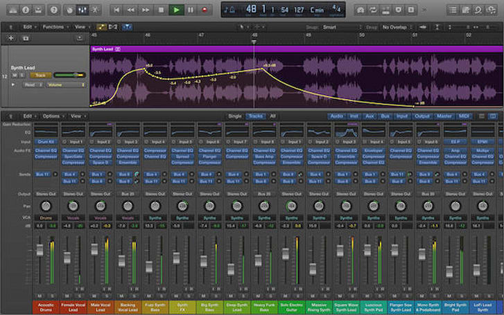 Logic Pro X update brings AirDrop support, new effects, tools, and more