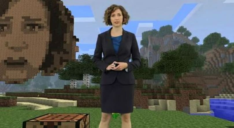 Kristen Schaal wants you to build her a shrine... in Minecraft