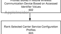 Apple's carrier ranking patent application hints at global iPhone