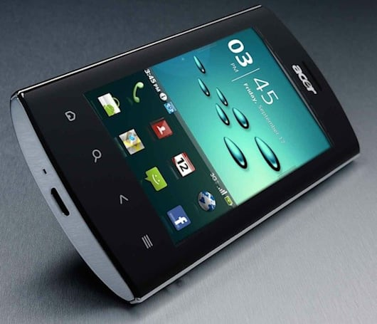 Acer Liquid Metal gets official in the UK with Android 2.2 and Breeze UI