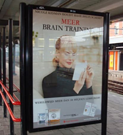 More Brain Training ads in the wild