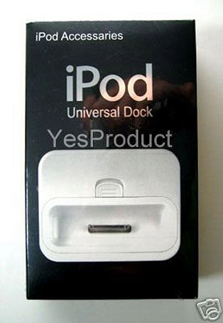 Keepin' it real fake, part XXXIV: iPod Universal Dock YesProduct
