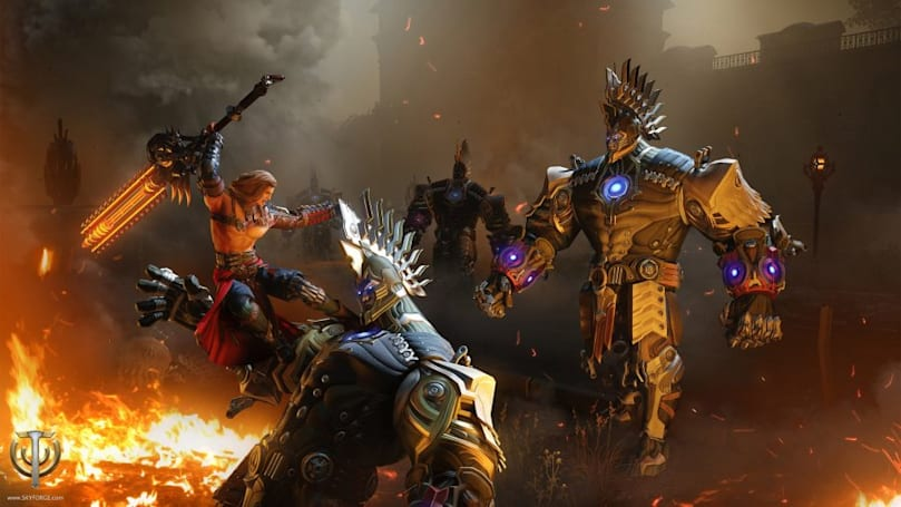 Skyforge details the Berserker's rage mechanic