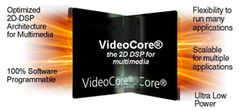 Broadcom's VideoCore III multimedia processor bringing HD to mobiles