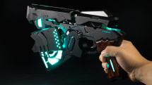 動画:Cerevo、アニメPSYCHO-PASSの特殊拳銃ドミネーター開発。自動変形機構、スマホで執行シーン再現