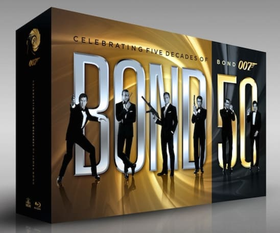 Bond 50 Blu-ray box set collects all 22 films in one tidy package