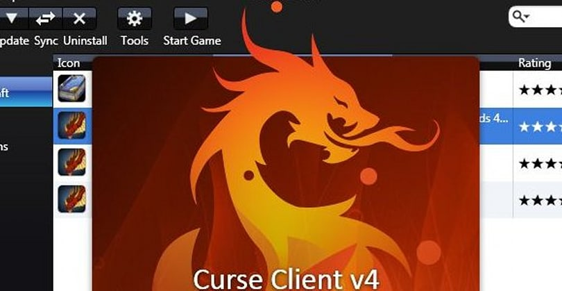 Curse Client v4 now in open beta