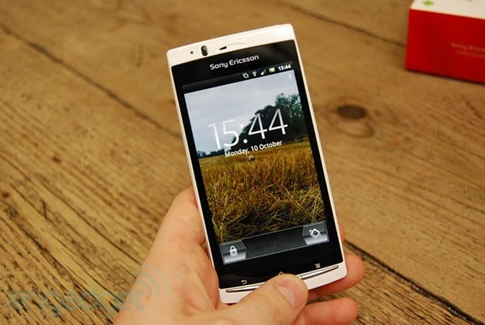 Sony Ericsson Xperia Arc S review