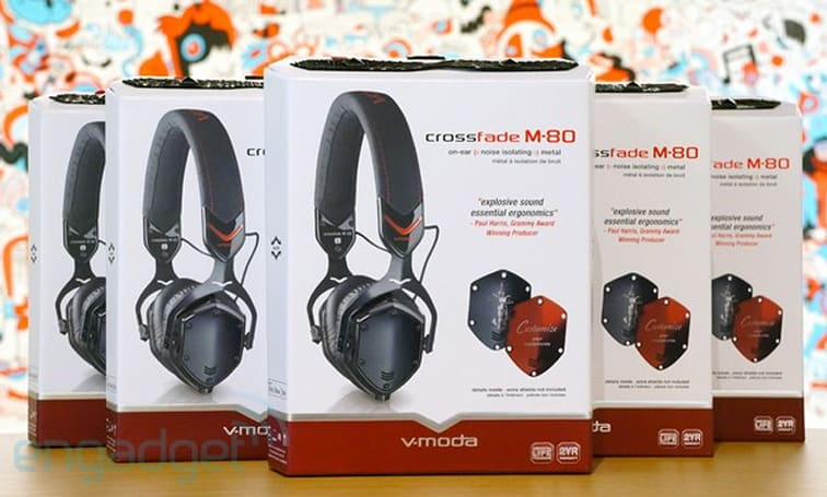 Engadget Giveaway: win one of five V-Moda Crossfade M-80 on-ear headphones!