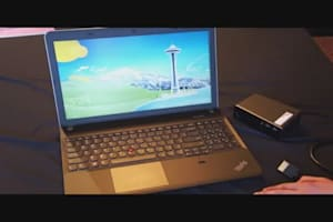Lenovo ThinkPad Edge E531 Hands-on CES 2013