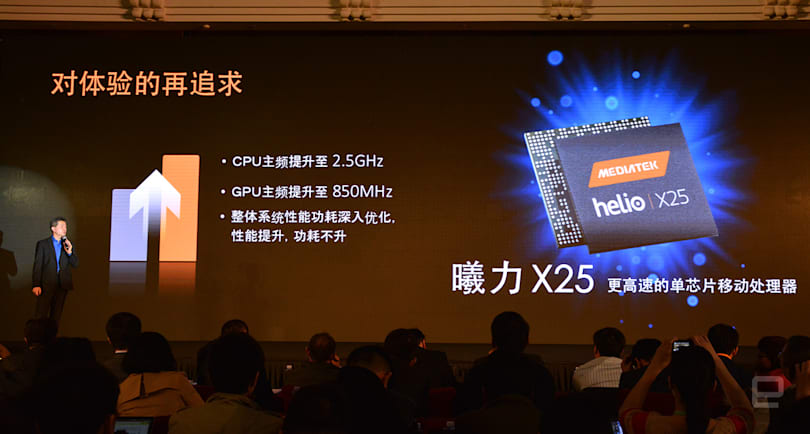 MediaTek's 10-core mobile chip hits the market next month