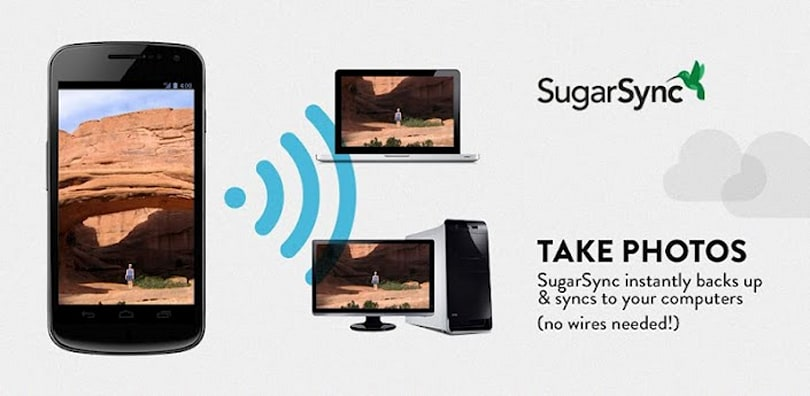 SugarSync for Android updated, adds enhanced sharing and on-the-go file management