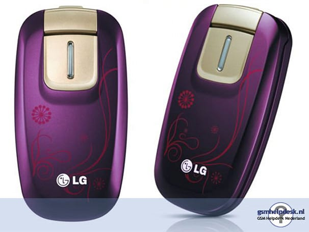 LG KG376's most fascinating feature is its color