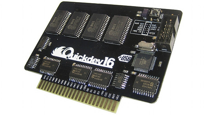 Quickdev16 cart opens up wonderful world of SNES homebrew