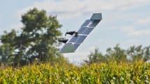 这台太阳能无人机能在直升机和飞机模式间切换