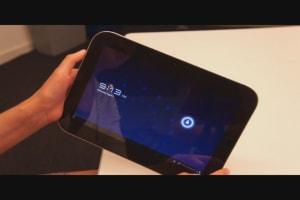 Lenovo IdeaPad K1 Review (Software)