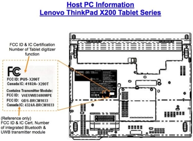 Lenovo's ThinkPad X200T tablet with UWB confirmed by FCC