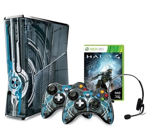 Xbox 360 Halo 4 bundle fights new enemies, packs familiar hardware on November 6th