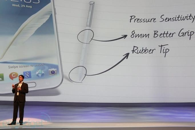 Samsung Galaxy Note II getting redesigned S Pen with rubber tip, improved grip