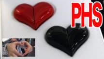 動画インプレ:ハートのPHS 『Heart』、潔すぎる単機能。見せびらかし系変形ギミック