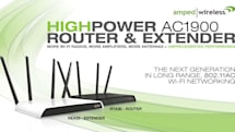 Amped Wireless outdoes itself with a new router and extender pairing