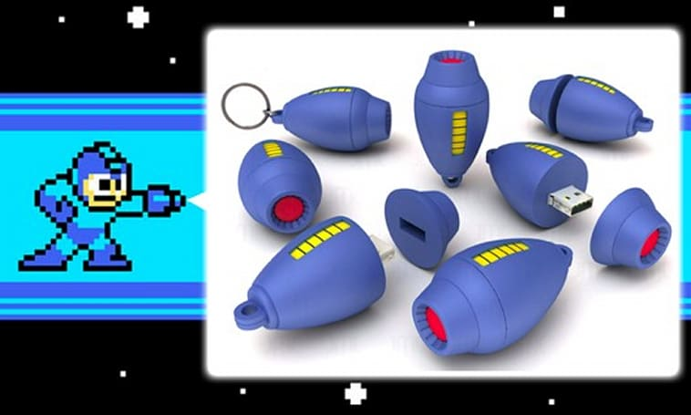 Arm your computer with Mega Buster USB drive