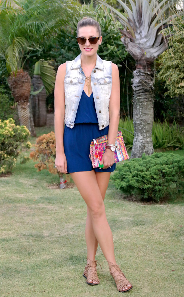 Street style tip of the day: Denim vest