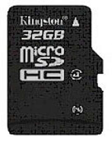 Kingston introduces Class 4 32GB microSDHC card, charges dearly for the speed