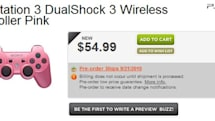Pink DualShock 3 arriving September 21, who's manly enough to buy one?