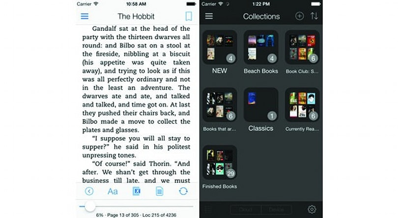 Kindle's iOS app gets a flatter design to match iOS 7