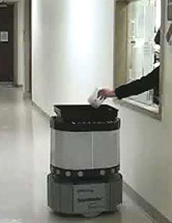 Speci-Minder delivers patient samples autonomously