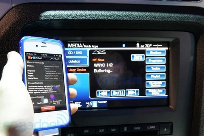 Hands-on with new NPR and SYNC Destinations via AppLink