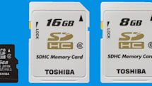 Toshiba unveils 16GB microSDHC card of its own