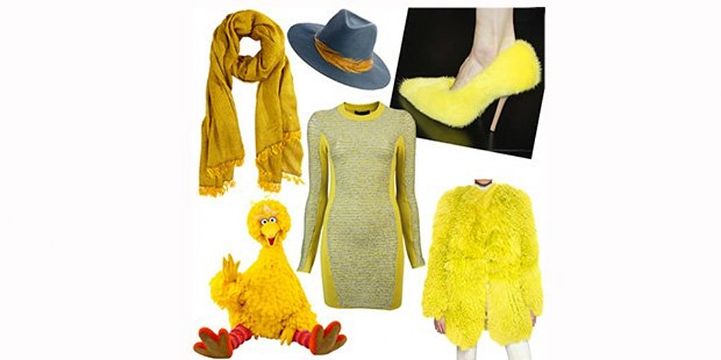 Big Bird's Influence Spreads from Politics to Fashion