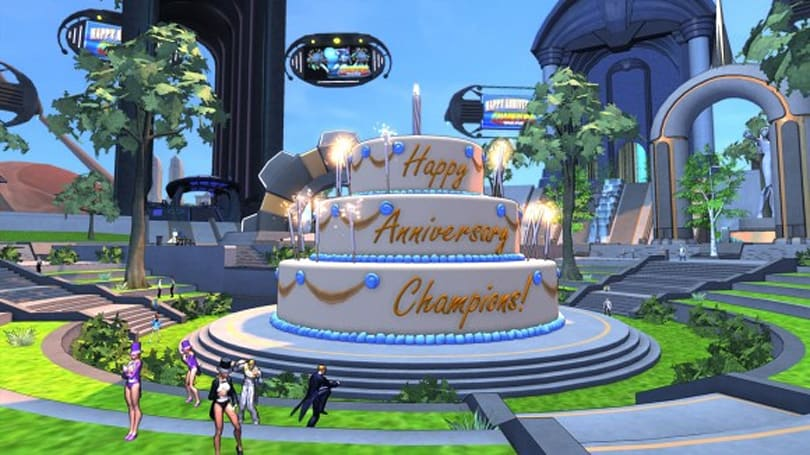 Champions Online looks to its one-year anniversary and beyond