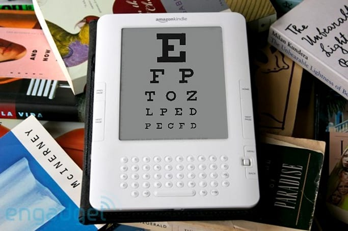 Kindle 2 users complain of eye strain, mull over possible solutions