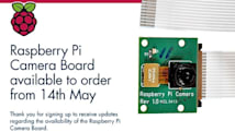Raspberry Pi camera module comes to the UK May 14th, lands early for some (updated)