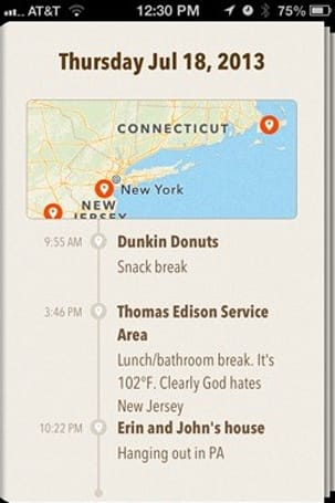 A road trip with Ohai for iPhone