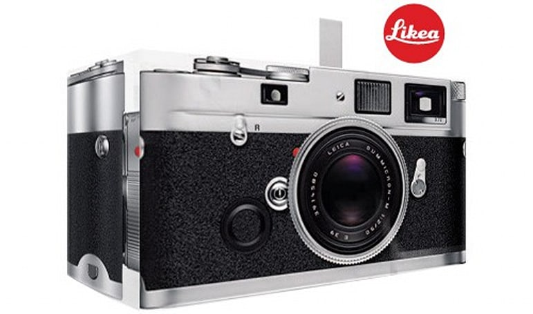 Keepin' it real fake: Likea Leica, only not
