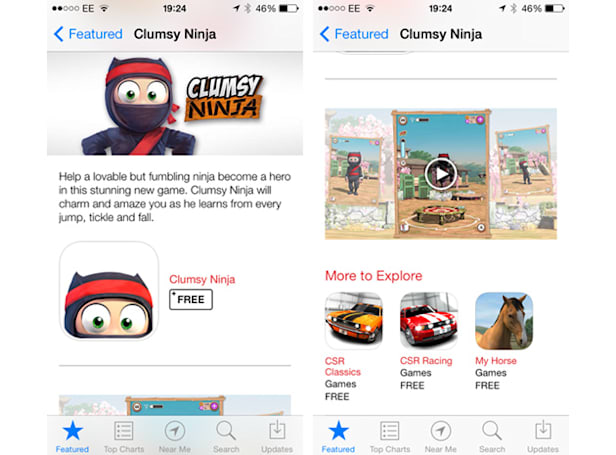 Apple posts its first video trailer on the iOS App Store
