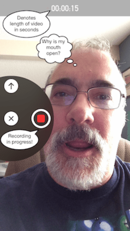 iOS 8 Messages app feature: Video messages