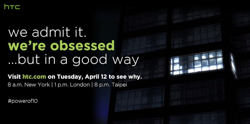 HTC's M10 will have an online launch event on April 12th