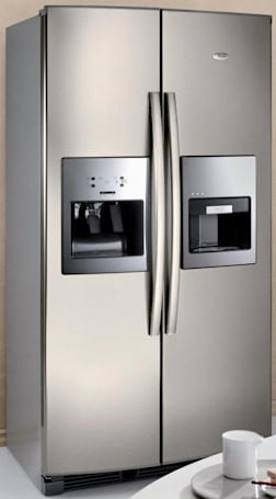 Whirlpool Espresso refrigerator brings the coffee to the cream