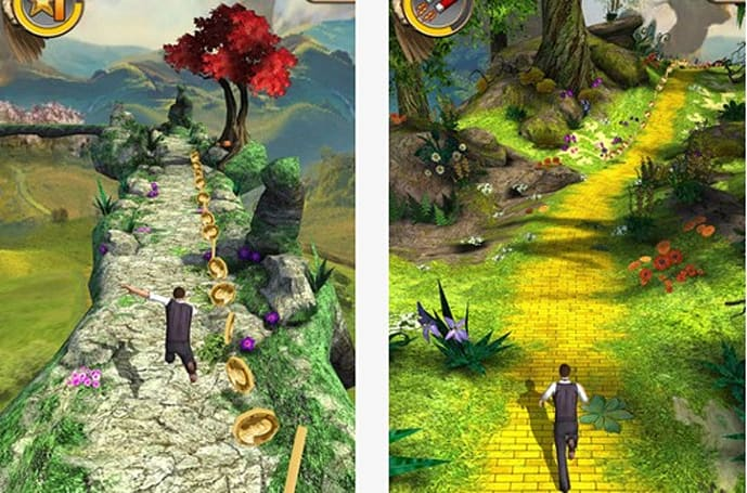 Temple Run 2 travels to the land of Oz