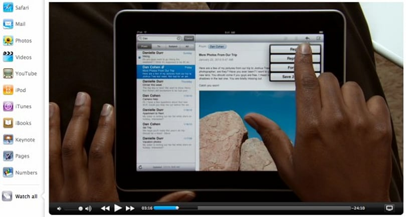Apple posts up iPad Guided Tours... lots of Guided Tours