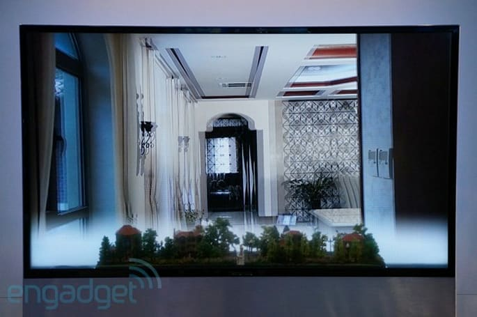 HiSense shows off its transparent 3D display, we go eyes-on