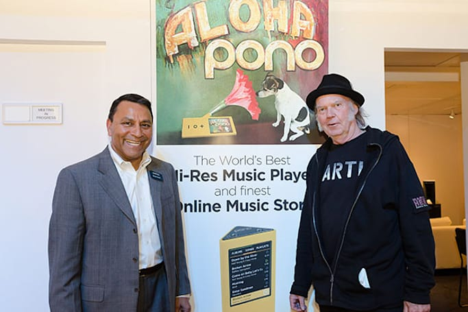 Neil Young's high-definition Pono Music is coming to cars