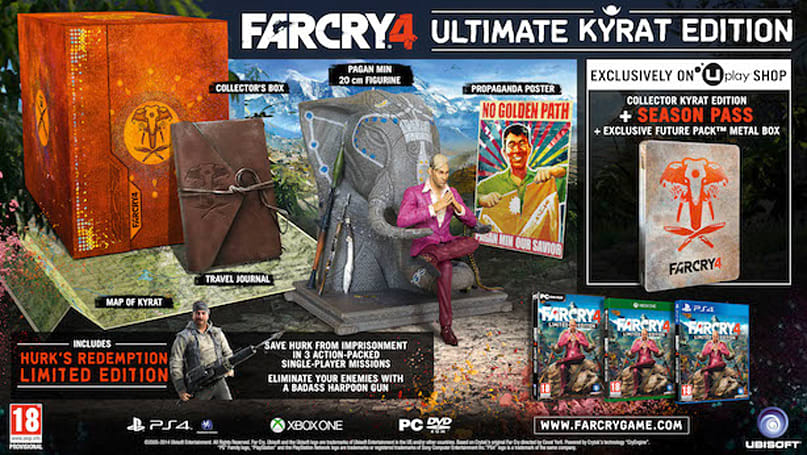 Hunt down Far Cry 4's Ultimate Kyrat Edition in EMEA territories