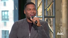 "Michael Strahan on ""Wake Up Happy"""